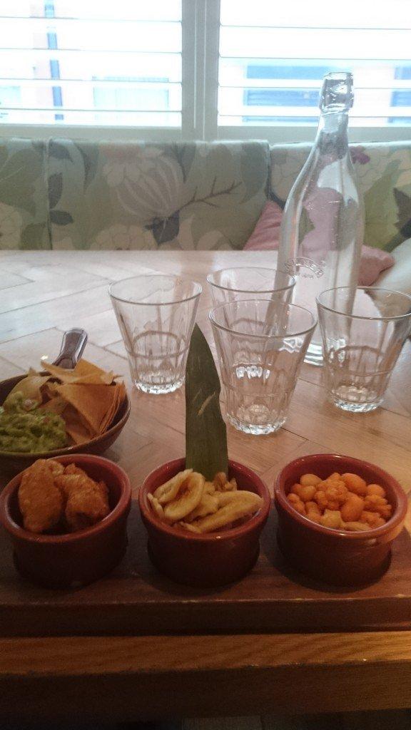 rev bar food