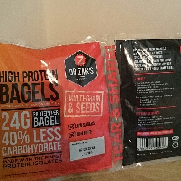 Dr Zak's Multi-Grain & Seeds High Protein Bagel Review