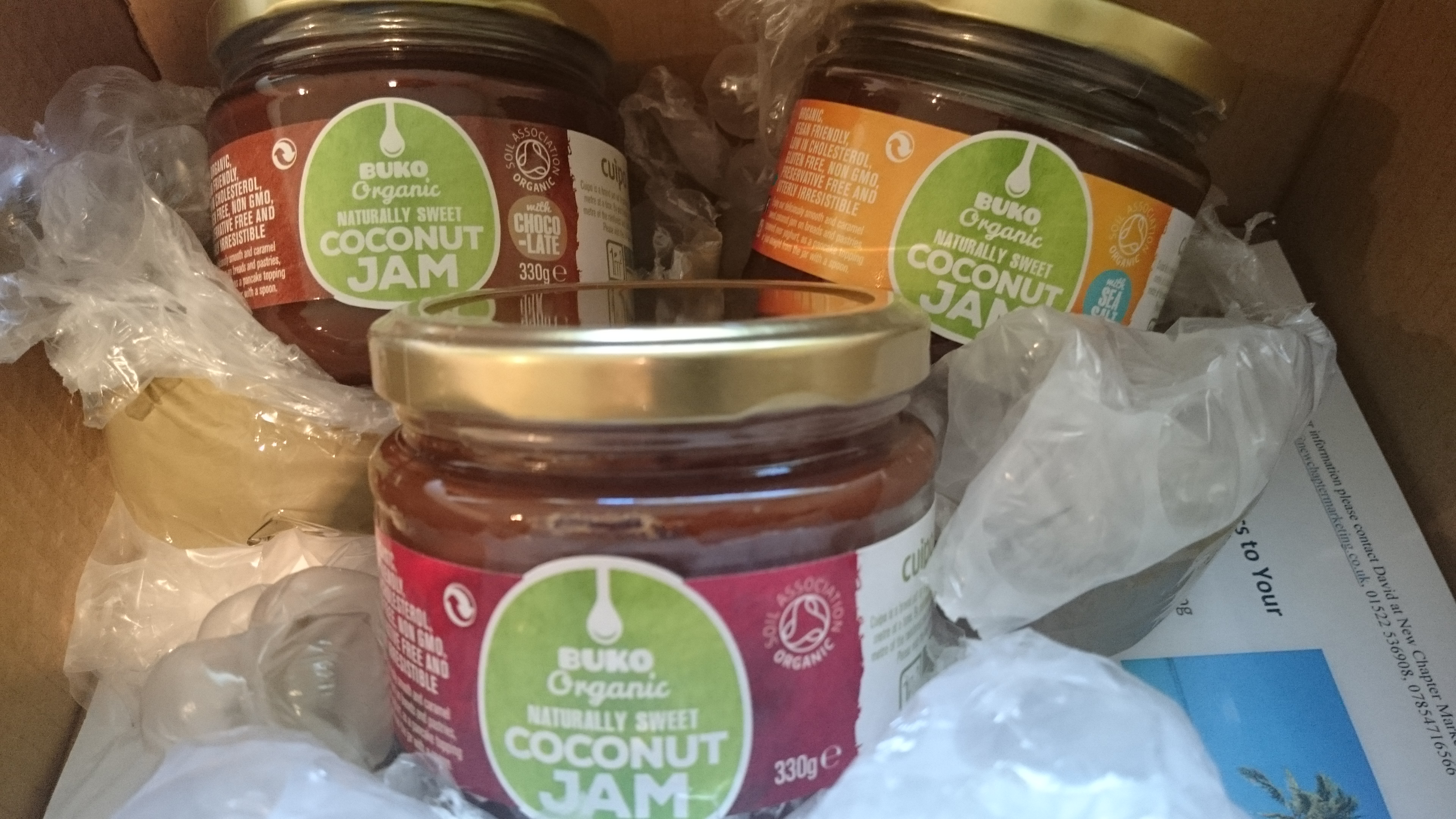 Organic Buko Coconut Jam Review