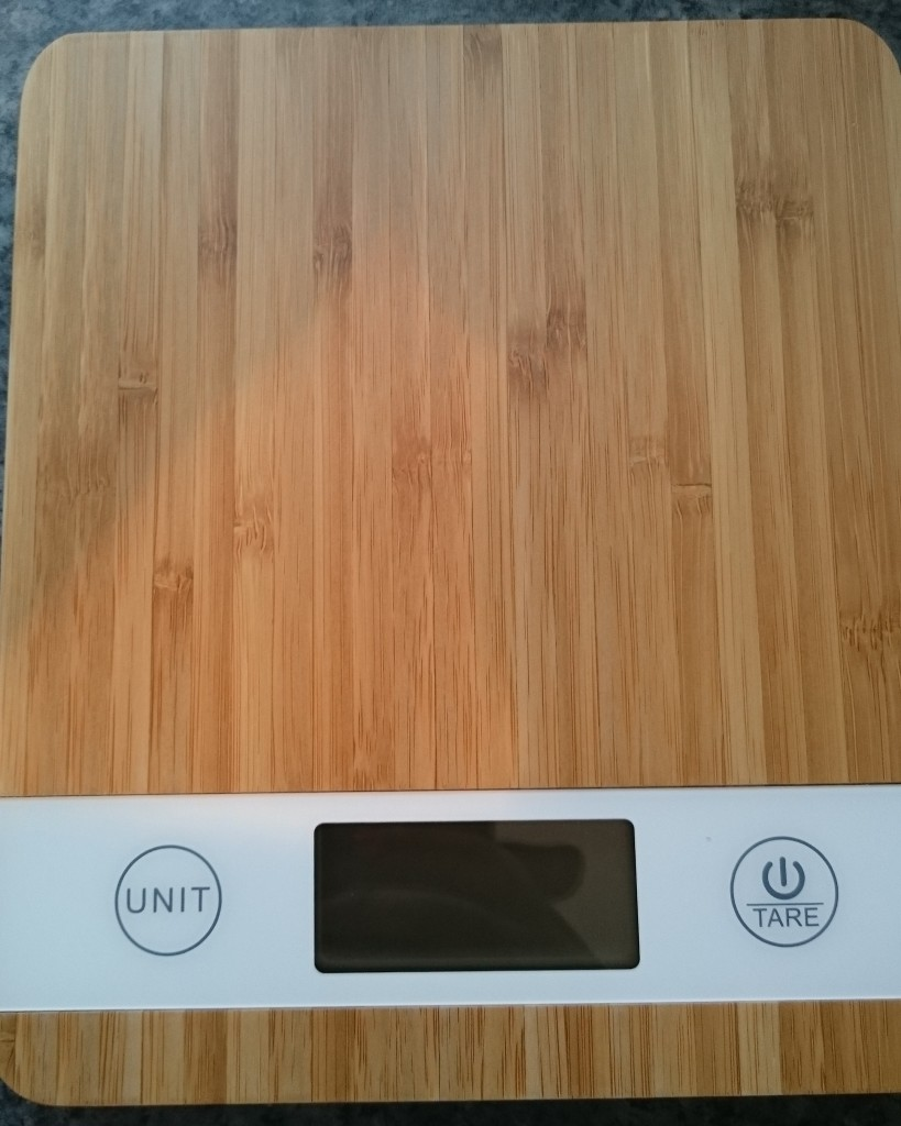 Smart Weigh Digital Bamboo Kitchen Scales