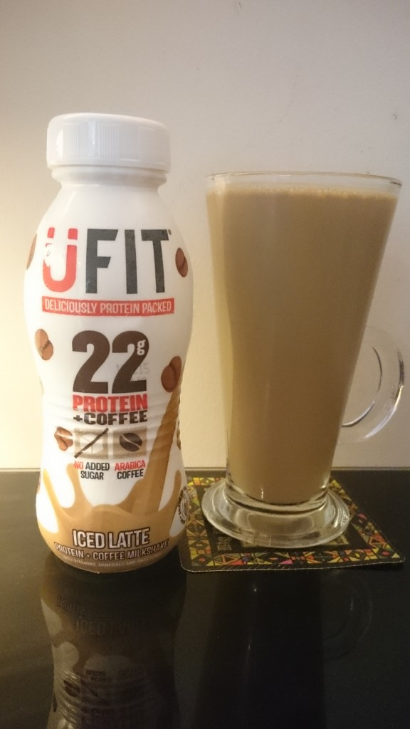UFIT ICED LATTE REVIEW