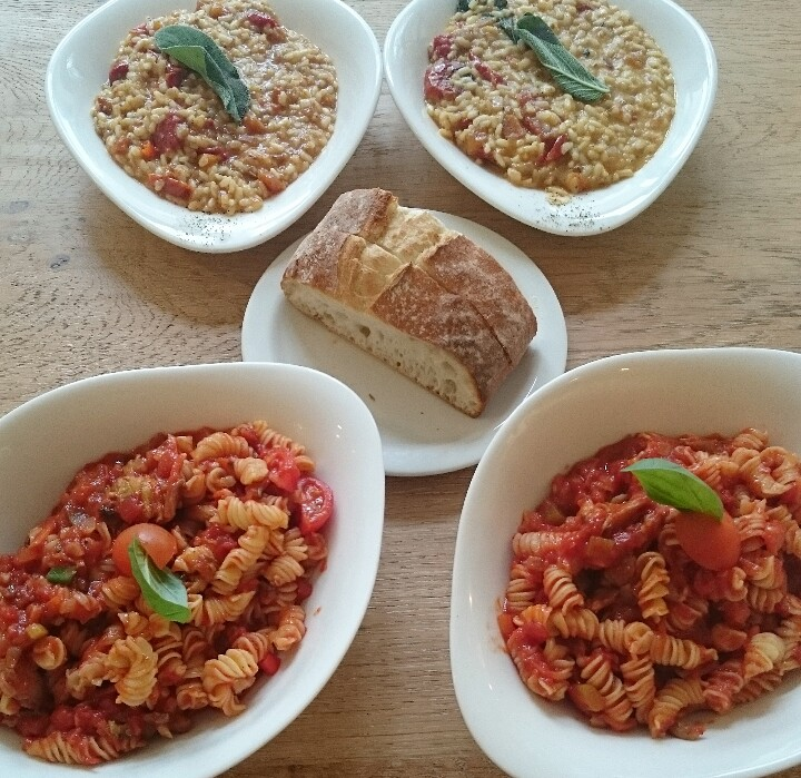 #WorldVeganMonth: Vapiano Vegan Menu Review