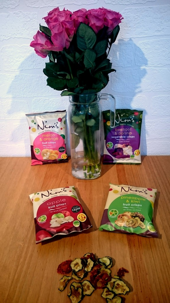Healthy Snacking With Nim's Fruit Crisps