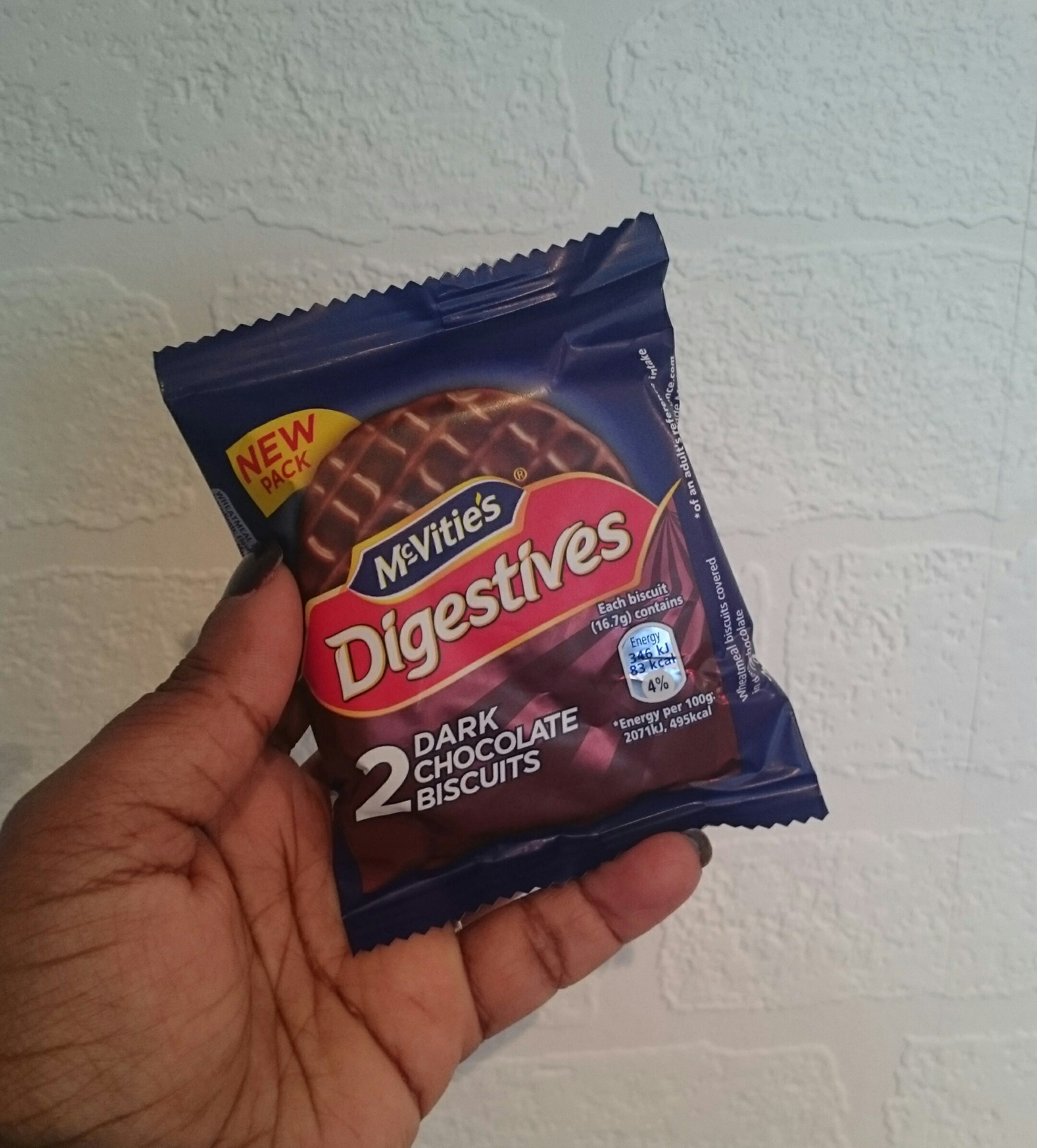 Mcvitiess Digestives To Go Review Pure Nourish