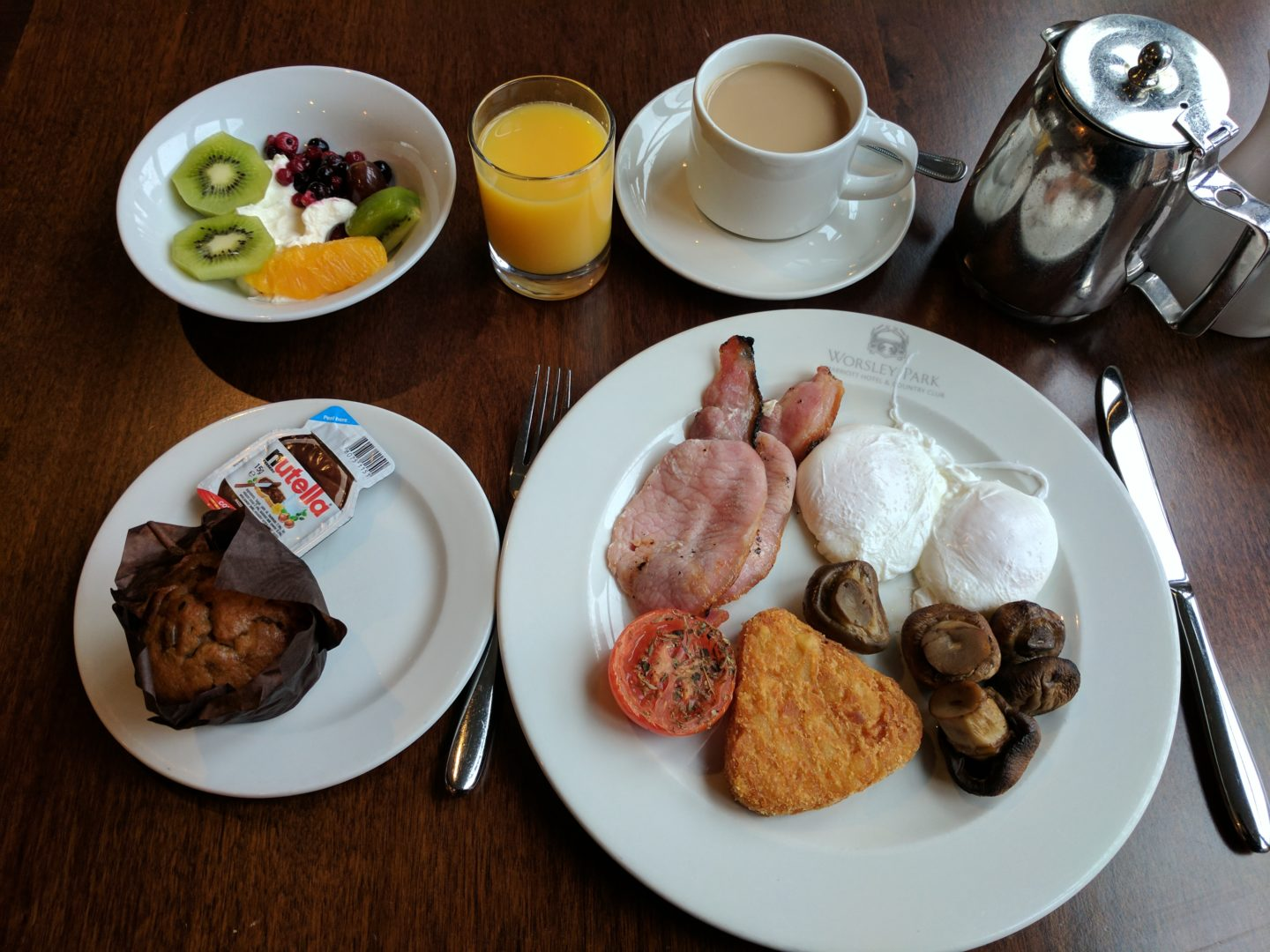 Worsley Park Marriott Hotel & Country Club Breakfast Review