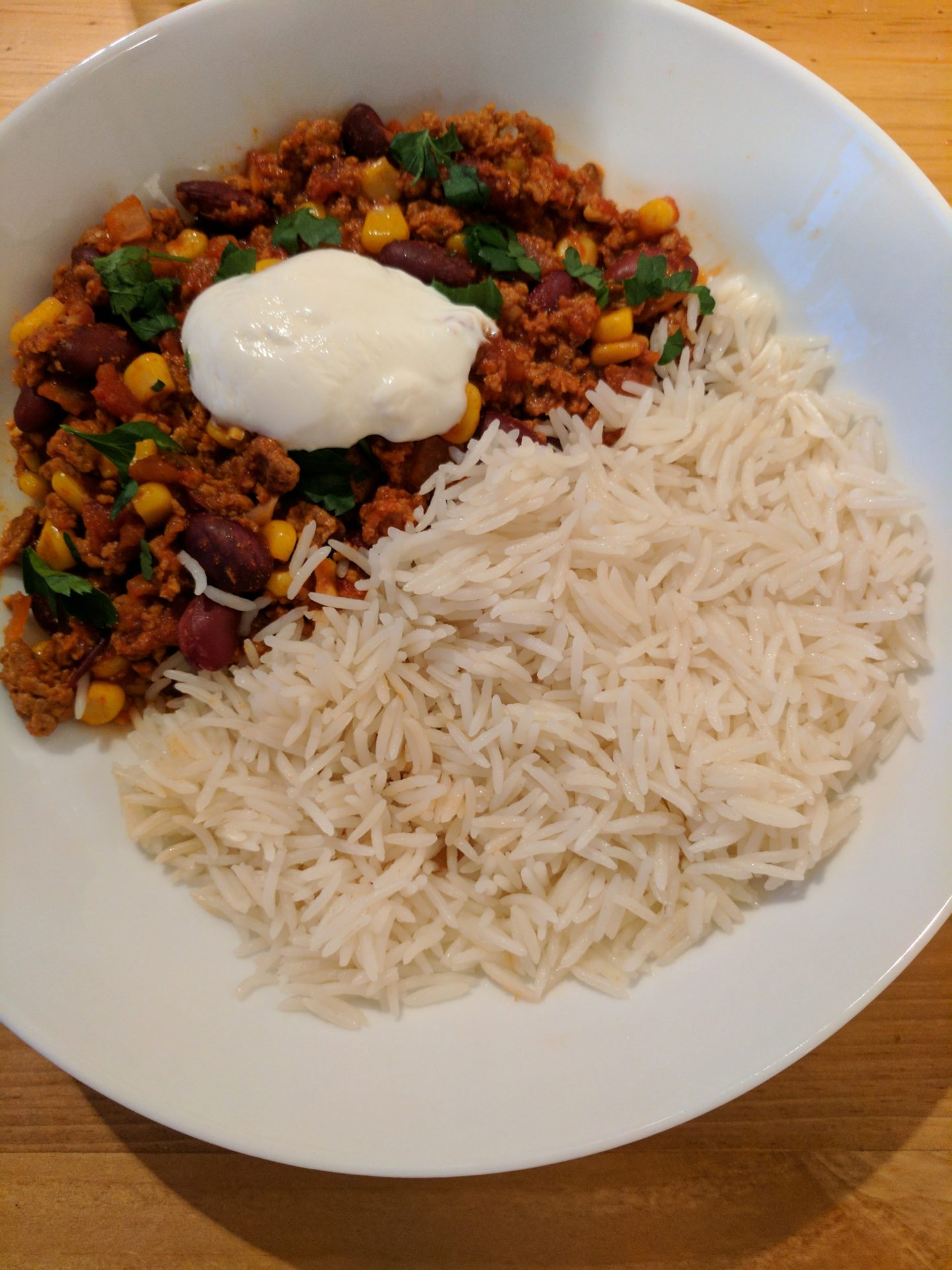 Meat-Free Monday Vegetarian Chilli