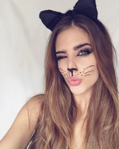 Guest Post 5 Last Minute Cat Face Makeup Ideas For The Upcoming - Halloween-face-makeup